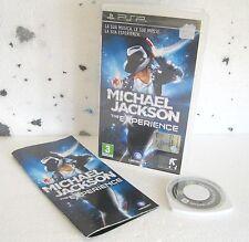 MICHAEL JACKSON The Experience (2010) PSP PAL ITA ORIGINALE USATO