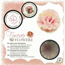Craft Buddy Forever Flowerz Brilliant Begonias - Pink Ff07pk - Makes 30 Flowers