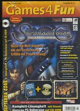 Games4Fun - Ausgabe Nr. 6 - SEPTERRA CORE - LEGACY - Original in Folie - NEU