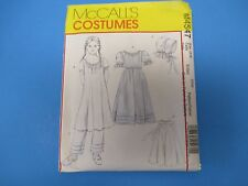 Vintage Sewing Pattern McCall's M4547 Costumes, Girl's Early American, 3-6, S766