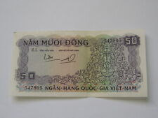 50 Dong South Vietnam Note 1964