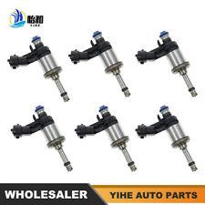 6 Pcs Fuel Injectors For Buick Chevy Chevrolet GMC 3.6L V6 2012-2017 12663380