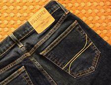 Hollister California, Mens Dark blue skinny jeans, Size W30 L30