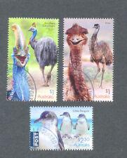 Australia-Flightless Birds fine used cto set 2019