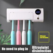 Bedroom Smart Induction UV Light Toothbrush Holder Sterilizer Box Dental UV Ultr