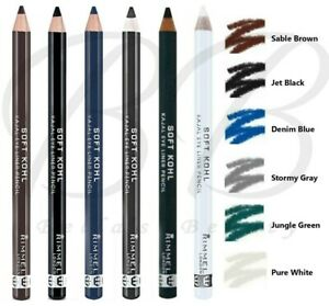RIMMEL London Soft Kohl Kajal Professional Eyeliner Pencil *ALL SHADES*