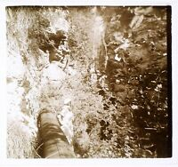 Montagne, c1930 Foto Positive Placca Da Lente Stereo Vintage VR16L16n4