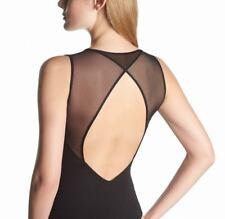 OROBLU Perfectline Bodywear BODY DE TIRAS, TOP, tul / opaco, negro, XL = 44-46