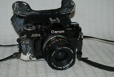 Vintage Canon AE-1 SLR Film Camera with Lens FD 35mm 1:3.5 s.c