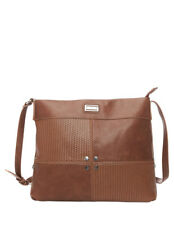 NEW Cellini Sport Joan Zip Top Crossbody Bag CSK121 Tan
