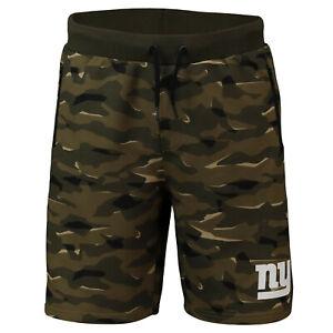NFL Shorts Trousers New York Giants Ny Digi Camo Camouflage Training Football