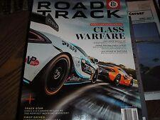 ROAD & TRACK magazine may 2017, LANBORGHINI AVENTADOR S, Mersedes-AMG E63S  j-19