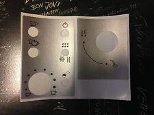 Jura Impressa E-Serie Tastensymbol Aufkleber Sticker
