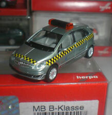 HERPA 090117 FANTASTIQUE MERCEDES BENZ MB B-KLASSE EMERGENCY ECHELLE 1:87 HO NEW