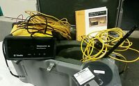Trimble 384600-45 Trimmark IIe Base Station /w Antenna Cables Case Misc Cords