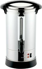 NEW VonShef 20L Electric Hot Water Urn, Stainless Steel Catering Dispensing Urn