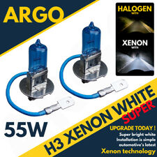 55w H3 Super White 4800k Xenon Fog Light Bulbs Seat Inca Leon Mk1 Mk2 99+