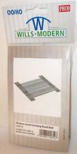 Wills Modern SSM319 - Modern Level Crossing Road Bed, Plastic Kit       New.(00)