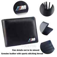 1x Leather Licence Bag M Power Card Wallet Storage Case For BMW F10 F48 E84 E93