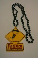 Pacifico Cerveza beaded necklace