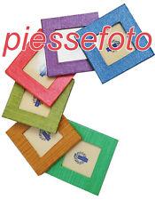 Cornicetta magnetica 5x5 cm in carta Minicornice Vari colori disponibili - 1 pz
