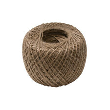NATURAL STRONG JUTE , 250m BALL OF GARDEN STRING FOR TYING OF PLANT ROPE ROLL