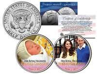 PRINCESS CHARLOTTE of Cambridge 2015 JFK Kennedy Half Dollar US 2-Coin Set BIRTH