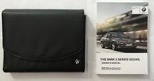 2012 & UP BMW 3 Series Sedan Factory OEM Owners Manual F30 320 328 335 W/ Case