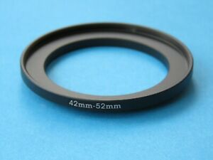 42mm to 52mm Step Up Step-Up Ring Camera Lens Filter Adapter Ring 42mm-52mm