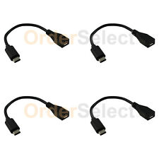 4X NEW USB Type C to Micro USB Adapter Cord for Android BlackBerry DTEK60 HTC 10
