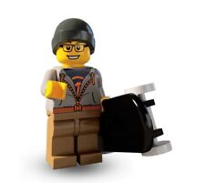 Lego series 4 street skater mini-figure #9 of 16 with collectors checklist