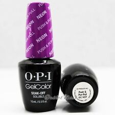 OPI GelColor Neon Collection Summer 2014 - PUSH & PUR-PULL GC N37 > Ship in 24H