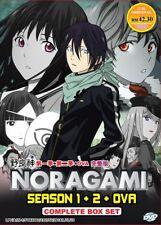 DVD Anime NORAGAMI Complete Series ( Season 1+2 +OVA ) English Dubbed Audio