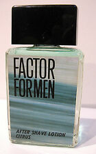 PROFUMO UOMO AFTER SHAVE MAX FACTOR FOR MEN 120ML VINTAGE RARE AFTERSHAVE HOMME