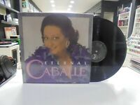 Montserrat Caballe 2LP Spanisch Eternal Caballe 1991 Klappcover