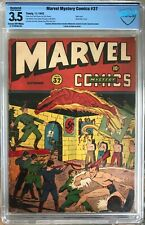 Marvel Mystery Comics #37 (1942) CBCS 3.5 -- WWII Hitler cover; restoration; CGC