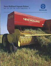 Farm Equipment Brochure -  New Holland - 565 et al - Square Baler - 1997 (F5265)