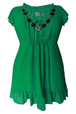 Plus Size Polyester Summer/Beach Dresses for Women