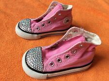 Kids toddlers girls converse trainers shoes size 4 infant
