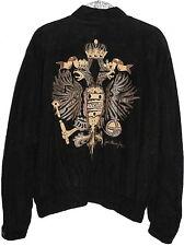 JEAN CLAUDE JITROIS VINTAGE Jacket Suede Black