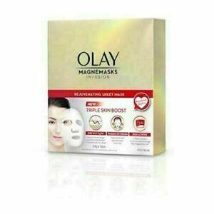OLAY Magnemasks Infusion Rejuvenating Sheet Mask 24g x 5pcs