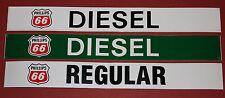 ORIGINAL VINTAGE Phillips 66 sticker/decal kit for gas/diesel pump/station 3 pcs