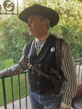 DOC HOLLIDAY SHOULDER HOLSTER RIG CUSTOM MADE COWBOY ACTION