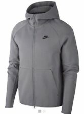 Nike Tech Fleece Windrunner Overhead Hoodie Jumper Jacket Grey Gym Jog Run Sport