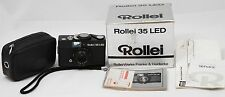 Rollei 35 LED Compact Film Camera with Triotar 40mm lens Kit + Case,Box & Manual