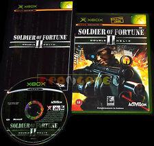 SOLDIER OF FORTUNE II 2 Xbox Versione Ufficiale Italiana ○○○○○ COMPLETO