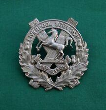 10th (Liverpool Scottish) Bn The King's Regiment 100% Genuine British Cap Badge.