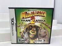 Madagascar: Escape 2 Africa Nintendo DS/Lite/DSi Game (Complete)