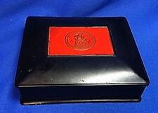 Vintage Made in US Zone Germany Bakelite Notepad Dispenser #AS
