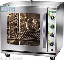 FORNO CONVEZIONE GAS METANO 4 GN 2/3 Gastronomia Griglie Ventilato Umidificatore